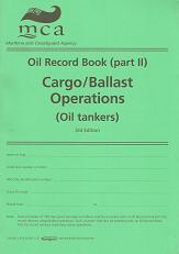 Oil Record Book (part II). Cargo/Ballast Operations (Oil Tankers)