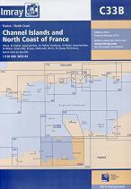 Channel Islands and North Coast of France. Carta Náutica Imray CC33B