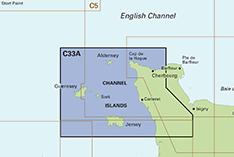 Channel Islands Carta Náutica Imray C33A