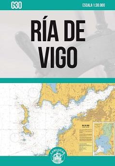 Ría de Vigo. Carta Náutica Cartamar G30