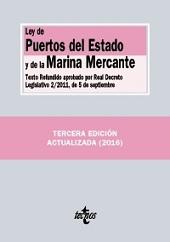 Ley de Puertos del Estado y de la Marina Mercante