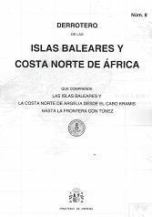 Derrotero 8. Islas Baleares y Costa Norte de África