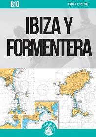 Ibiza y Formentera. Carta Náutica Cartamar B10