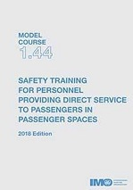 Model Course 1.44: Safety Training for Personnel, 2018 Edition. T144E