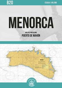 Menorca. Carta Náutica Cartamar B20