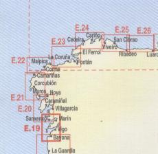 Camariñas - Muros. Carta Náutica Navicarte E21