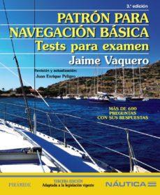 Patrón para Navegación Básica. Tests para Examen