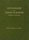 Dictionnaure des Termes de Marine. Français-Espagnols