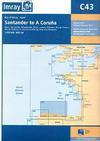 Santander to A Coruña. Carta Náutica Imray C43