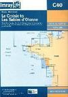 Le Croisic to Les Sables d'Olonne. Carta Náutica Imray C40