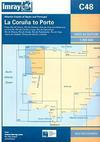 La Coruña to Porto. Carta Náutica Imray C48