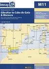 Gibraltar to Cabo de Gata & Morocco. Carta Náutica Imray M11