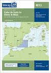 Cabo de Gata to Dénia & Ibiza. Carta Náutica Imray M12