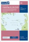 Archipiélago de Cabo Verde. Carta Náutica Imray E4
