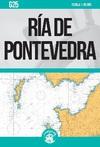 Ría de Pontevedra. Carta Náutica Cartamar G25
