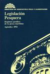Legislación Pesquera Régimen jurídico de la pesca marítima Apéndice 1992